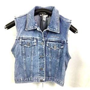 NY Jeans  Womens Denim Jean Vest Size Medium